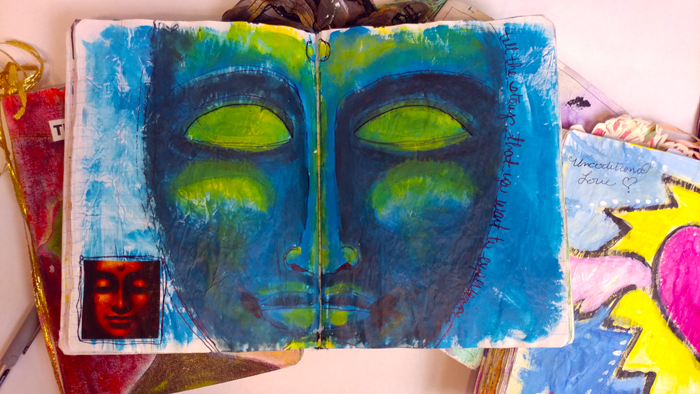 Artjournaling with Studio Lilley and Tiffiny LIlley