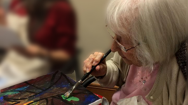 Art Classes for Seniors - Studio Lilley